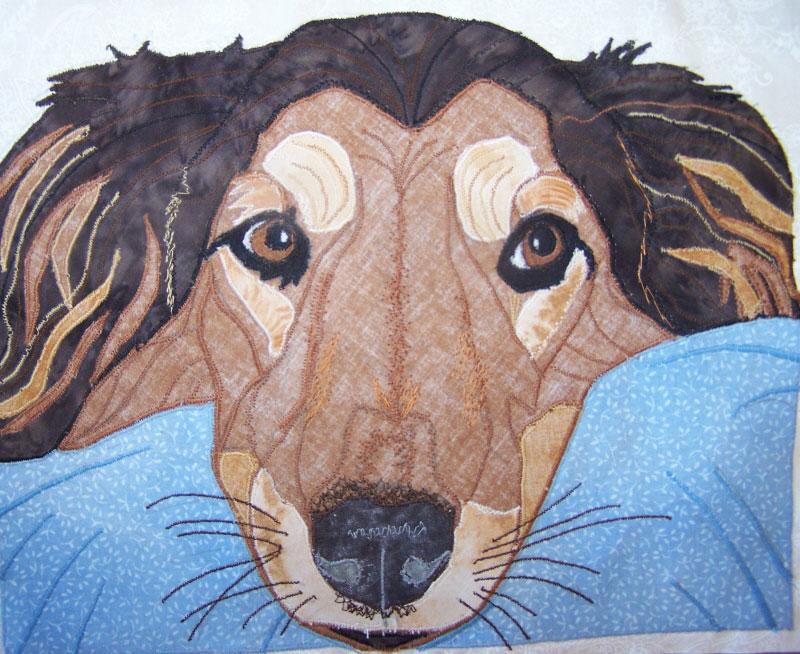 Image Jan Queijo-Anna's Portrait Quilt