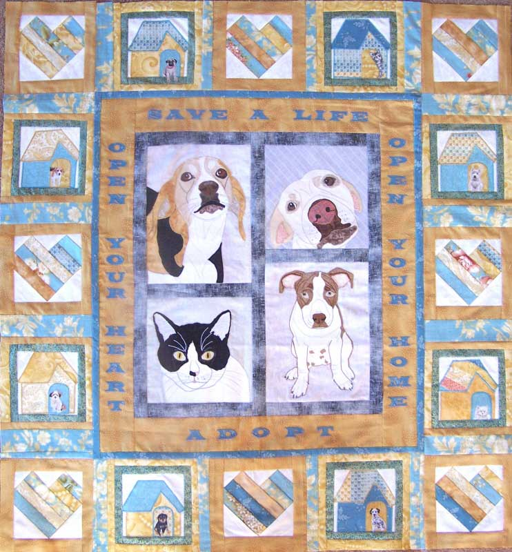 Image Queijo Heart and Home Quilt for MQX 2009