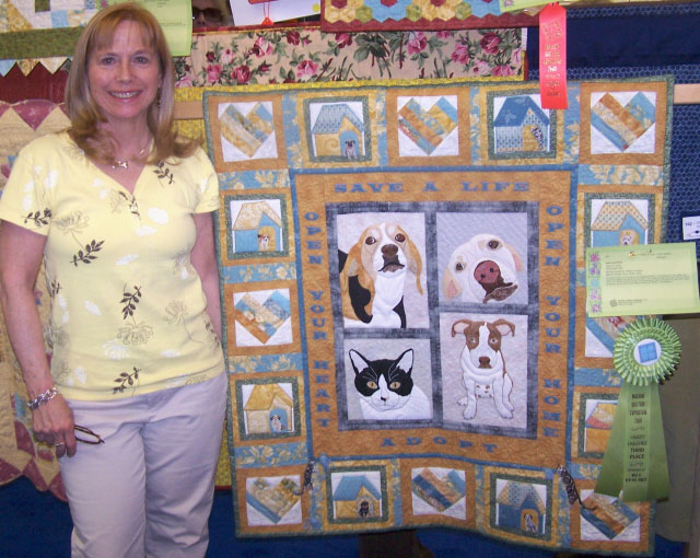 Image Queijo MQX 3rd-place quilt