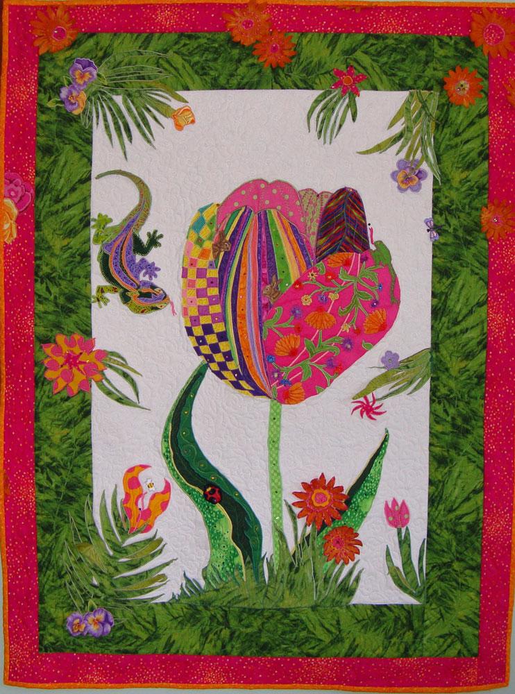Image Queijo Wild Flowers Quilt