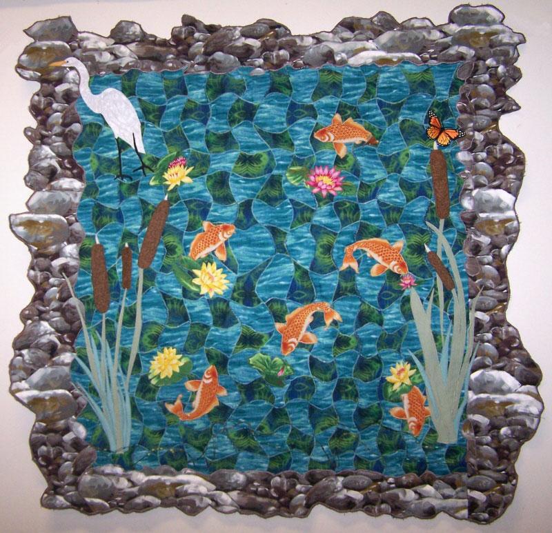 Image Queijo Woven Pond Quilt