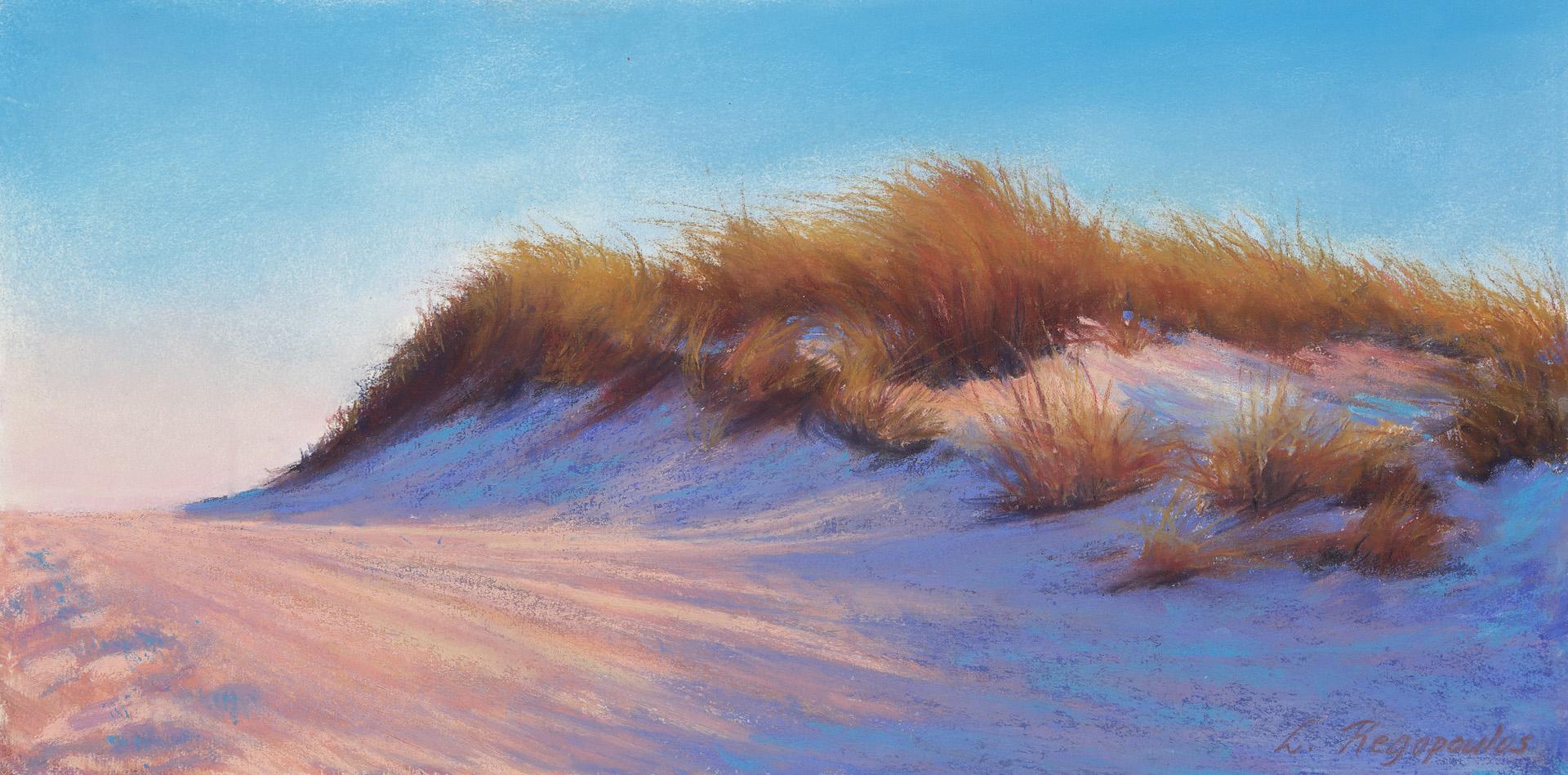 Pastel Sand Dunes by Lisa Regopoulous