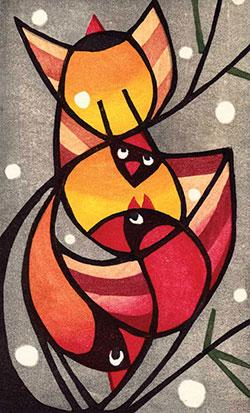 Stacked Cards by Lynita Shimizu